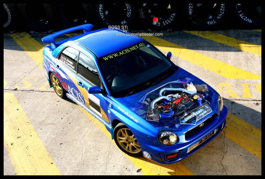 Custom Streeter - Hot Rod and Custom street cars - STI Subaru WRX