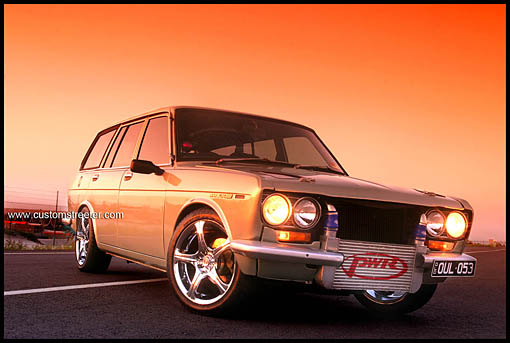 1600 510 datsun Wagon, Turbocharrged Nissan engine