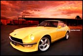 datsun 240z zed, modern restored 240Z with modern turbo engine