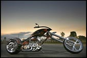 customchopper, kingpin choppers V-rod, custom built east coast west coast harley davidson frame chrome metal handbuilt kingpin choppers